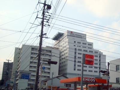 松江赤十字病院 高層棟ほぼ完成...