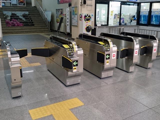 松江駅自動改札機