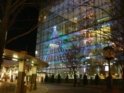 松江テルサ クリスマスイルミネーション2009