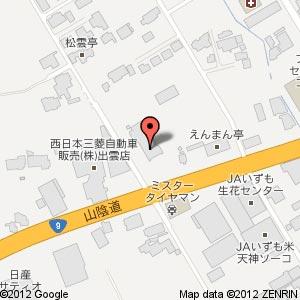 (仮称)イオン出雲食品館の地図