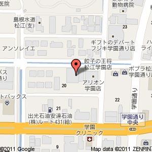 メディアカフェ アリオン 学園店の地図