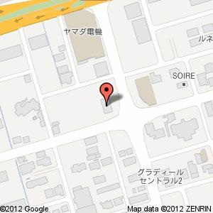 メガネ21出雲店の地図