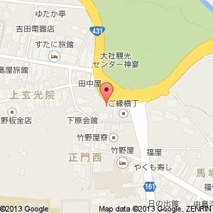 めのや新店舗の地図