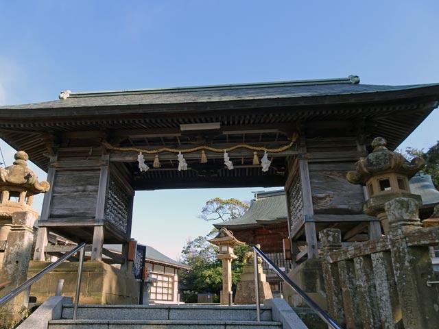 売豆紀(めづき)神社