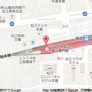 ミスタードーナツ 松江シャミネショップの地図