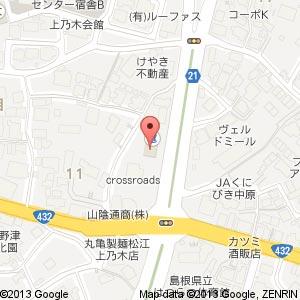 モスバーガー 松江上乃木店の地図