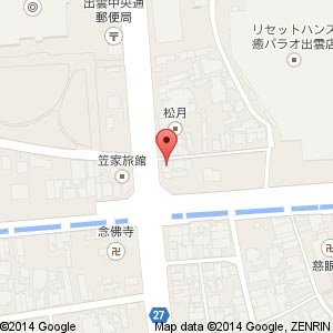 mr.kanso(ミスターカンソ)出雲店の地図