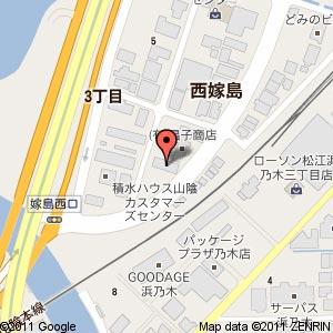 ミュージカルスタジオ ぼいすの地図