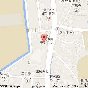 美容室 Mu-te(ミューテ)の地図