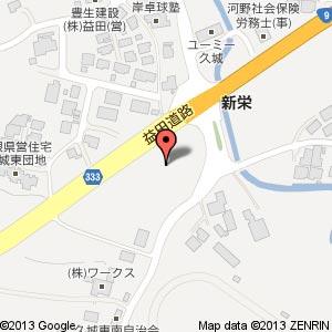 ホームプラザナフコ 益田北店の地図