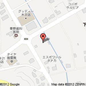 ホームプラザナフコ雲南店の地図