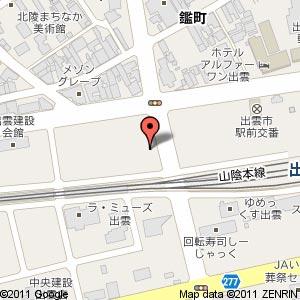 (仮称)中山美容室の地図