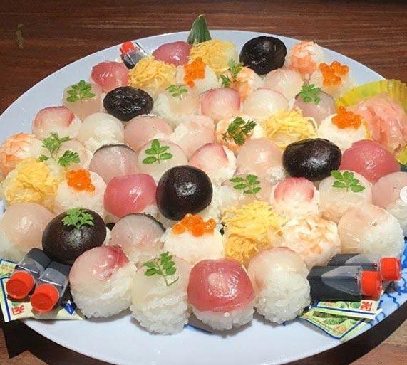 根っこや 手鞠寿司