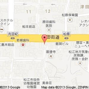 ニュータイヘイ松江ビルの地図