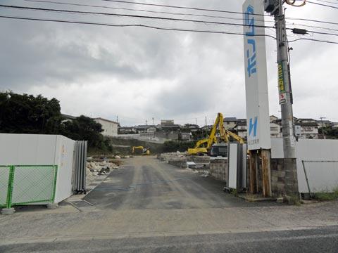 ニトリ松江店(仮) 工事開始