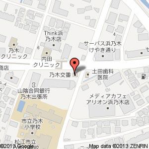 乃木交番跡地の地図