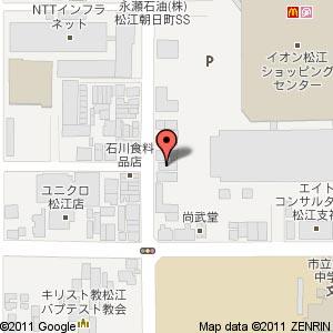 野いちご動物病院の地図