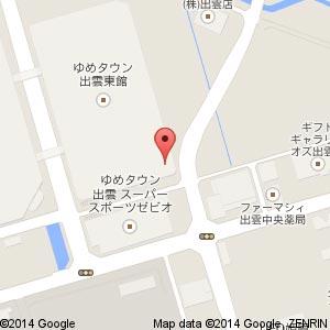 NOVA 出雲ゆめタウン校の地図