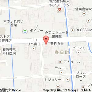 関西風お好み焼き 一座の地図
