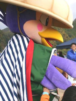 尾道松江線キャラクター「尾松くん(おのまつくん)」