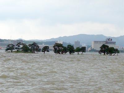 2009年7月 大雨 嫁が島