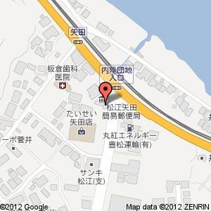 オランジュの地図