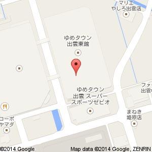 オルベネ ゆめタウン出雲店の地図