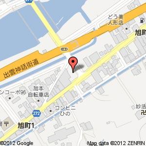 UNNAN OTAMA CAFE おたまはんの地図