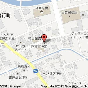 OVAL CAFEの地図