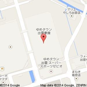 プティマイン ゆめタウン出雲店の地図