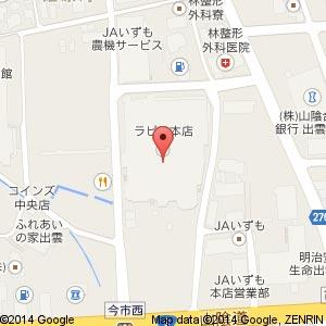 プティ・パトラン ラピタ店の地図