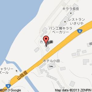 プティ・パトラン キララ多伎店の地図