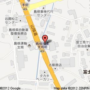 フェニックス島根松江店の地図