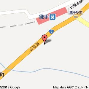 ポプラ 益田鎌手店の地図