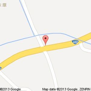 ポプラ 仁多亀嵩店の地図