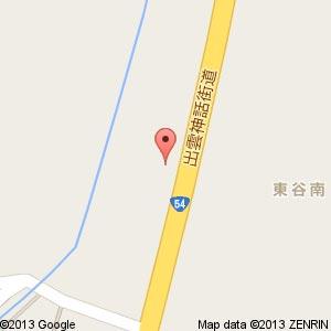 ポプラ 加茂東谷店の地図