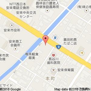 ポプラ 安来市役所前店の地図