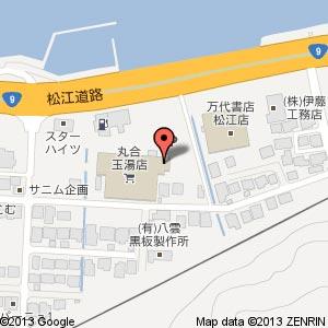 ぱーどれ玉湯店の地図