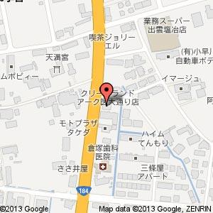 ピュアカット 出雲塩冶店の地図