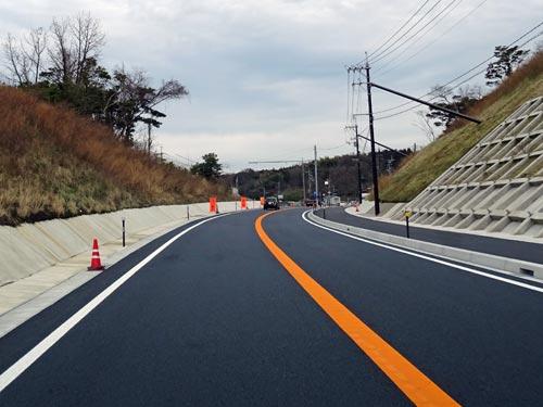 国道9号 林視距改良事業 一部区間先行供用開始