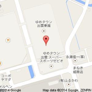 レインボーハット 出雲店の地図