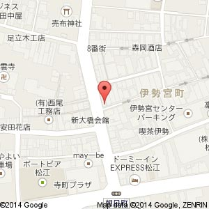 中華蕎麦・奨 伊勢宮店(仮称)の地図
