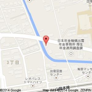 ラーメンショップ椿 出雲店の地図