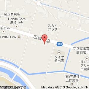 ラーメン・つけ麺 拉麺屋 無双の地図