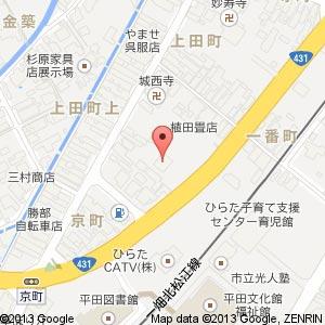 台湾料理 瑞祥(レイショウ)平田店の地図