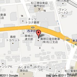 ルノー松江店の地図