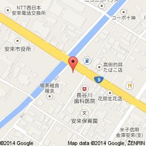 りらくる 安来店の地図