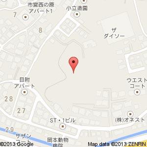 ローズガーデン松江の地図