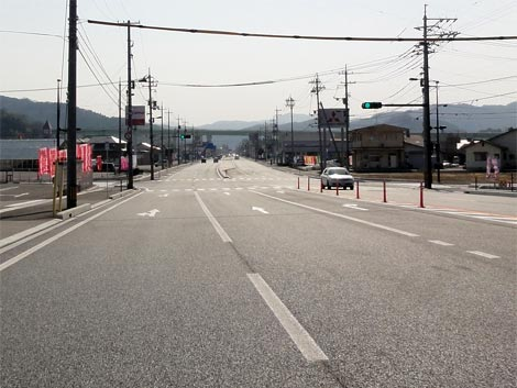国道54号拡幅工事(三刀屋拡幅)供用開始