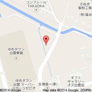 在-sai- TASHIROの地図